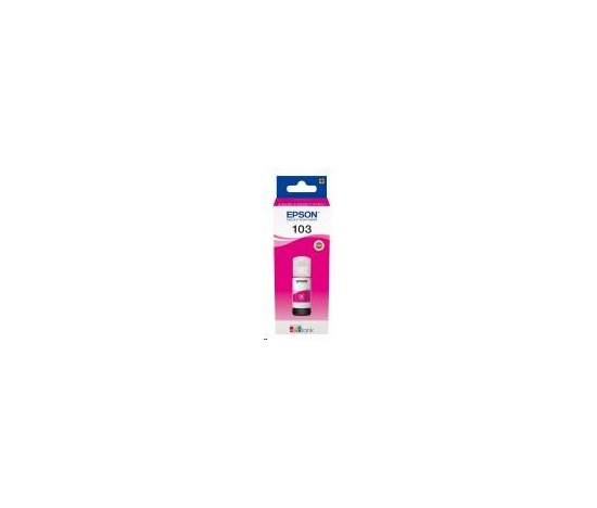 EPSON ink bar 103 EcoTank Magenta ink bottle