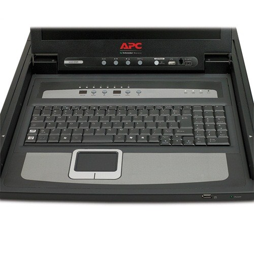 Apc 17 Quot Rack Lcd Console With Integrated 8 Port Analog Kvm Switch Ed System A S