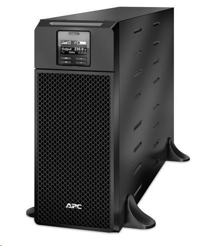 Apc Smart Ups Srt 6000va Rm 230v On Line 4u Rack Mount