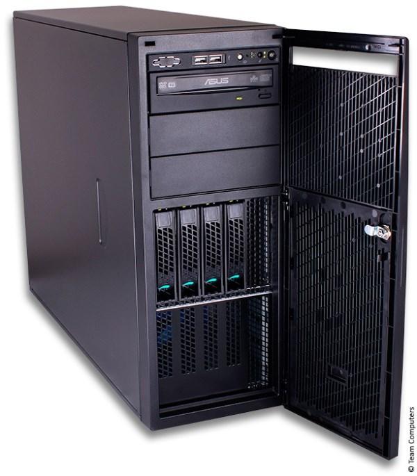 INTEL Server Chassis P4304XXMUXX, 4U, 4x 3,5